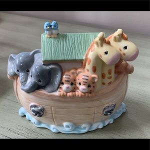 Noah's ark piggy bank